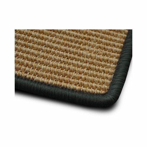 Teppich Glynis in Dunkelgrau ModernMoments Teppichgröße: Rechteckig 80 x 100 cm