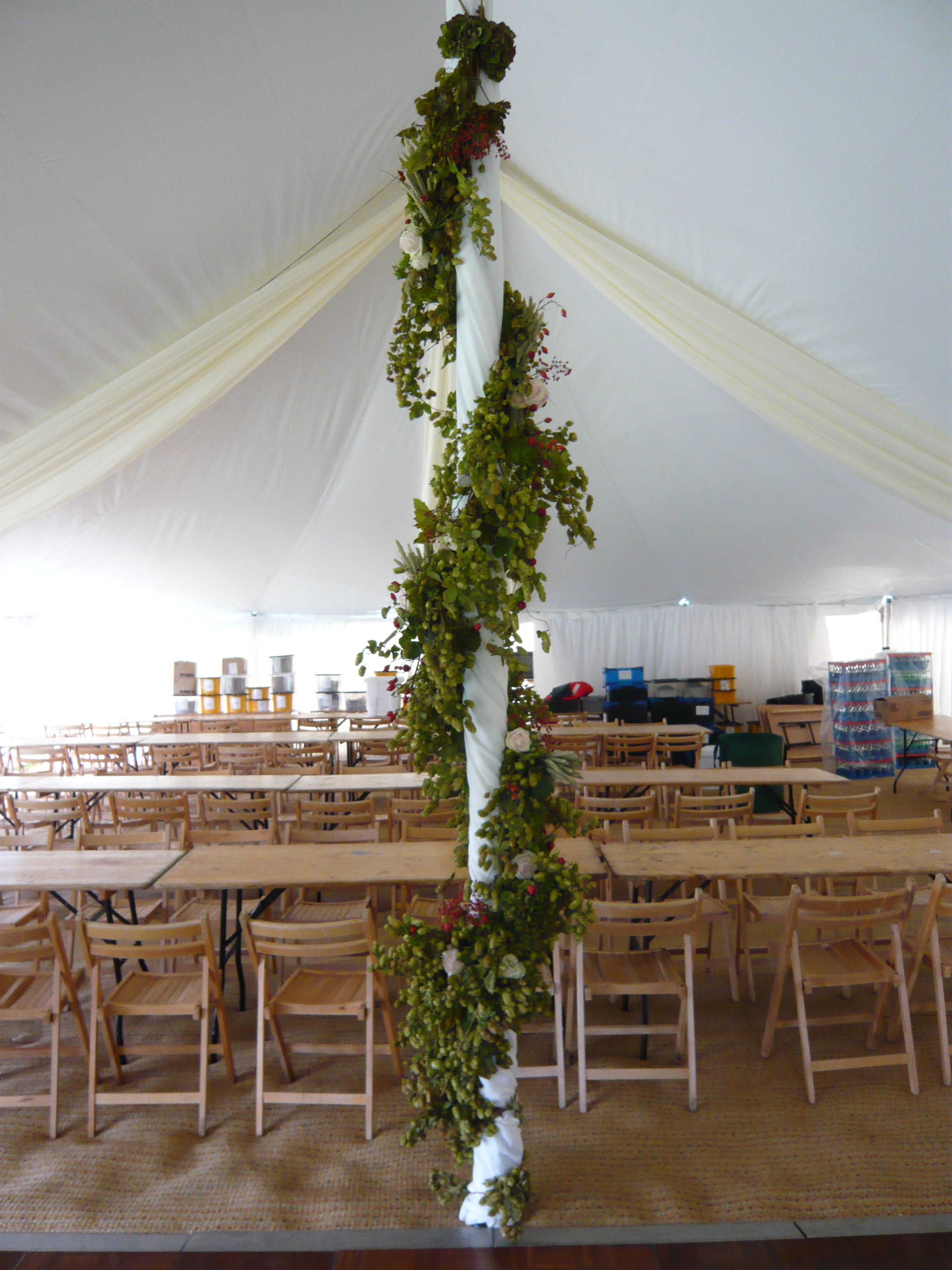Hops For Decoration Poles Decorated With Hops And Rose Tribal Beauty Alice And Kon