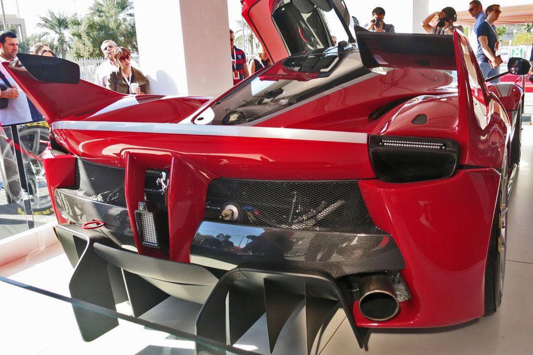 Ferrari FXX K Exterior Back End Wallpaper | Ferrari | Pinterest