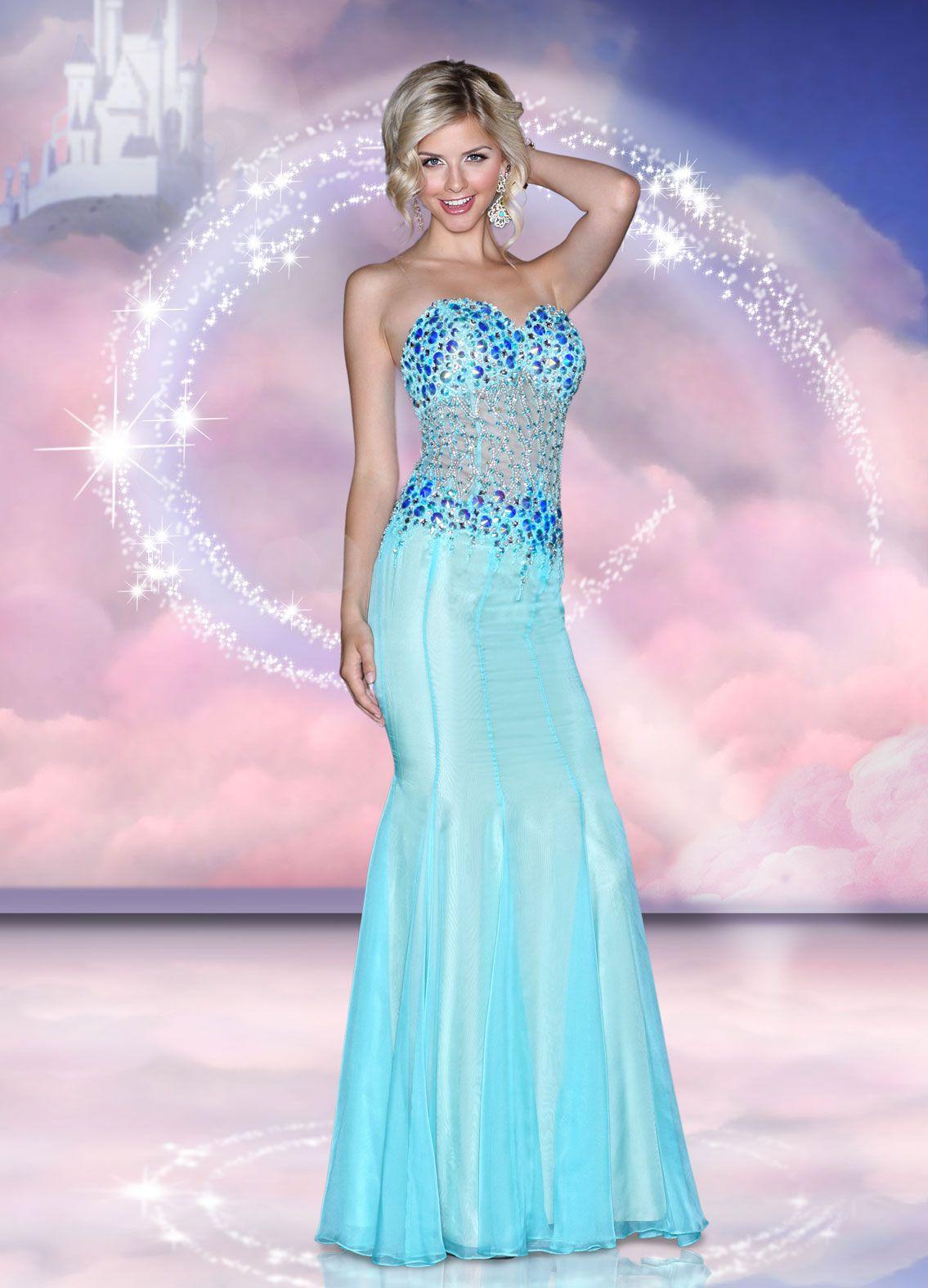 Disney forever enchanted prom dresses adorable pinterest