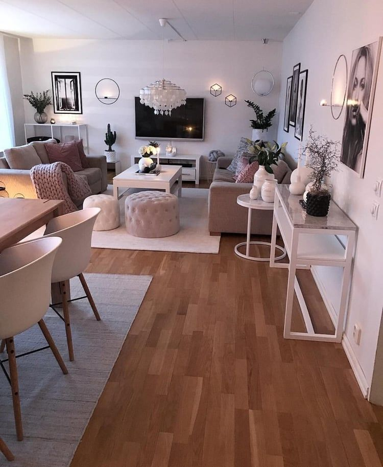 Photo of 14 Small Apartment Living Rooms with the Best Space-Saving Ideas