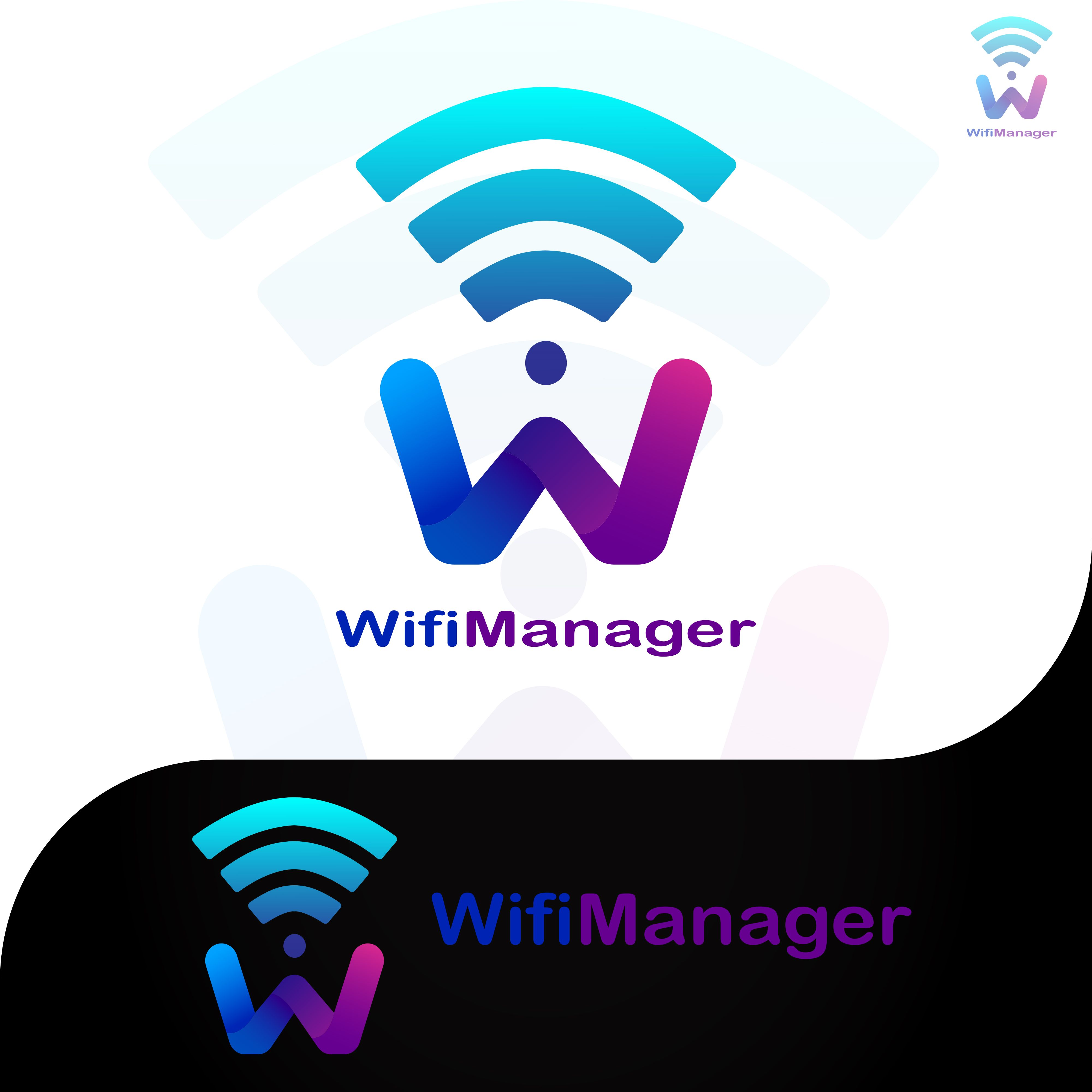 Wifi Manager Logo Logos Stock Images Free Creative Business