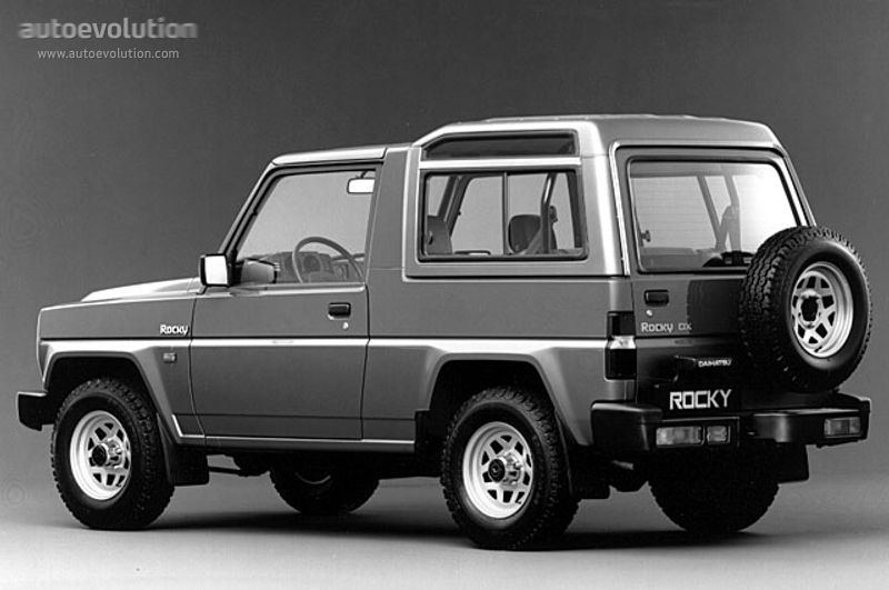 Daihatsu Rocky Wagon Specs Photos 1988 1989 1990 1991 1992 1993 1994 Autoevolution Daihatsu Future Concept Cars Concept Cars Vintage