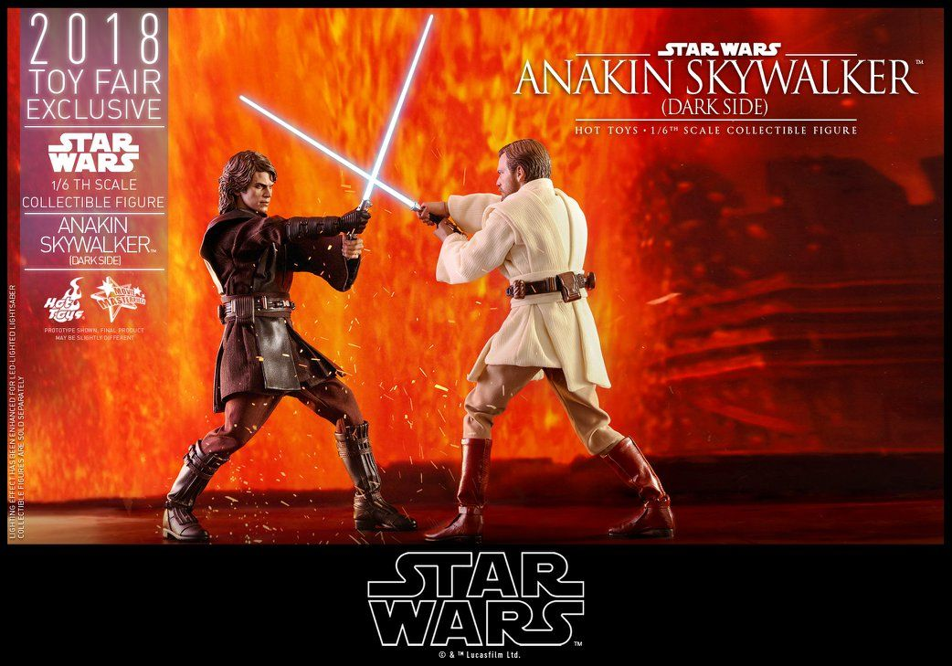 Hot Toys 2018 Toy Fair Exclusive 1 6 Action Figure Star Wars Episode Iii Revenge Of The Sith Anakin S In 2020 Star Wars Anakin Anakin Skywalker Sideshow Star Wars