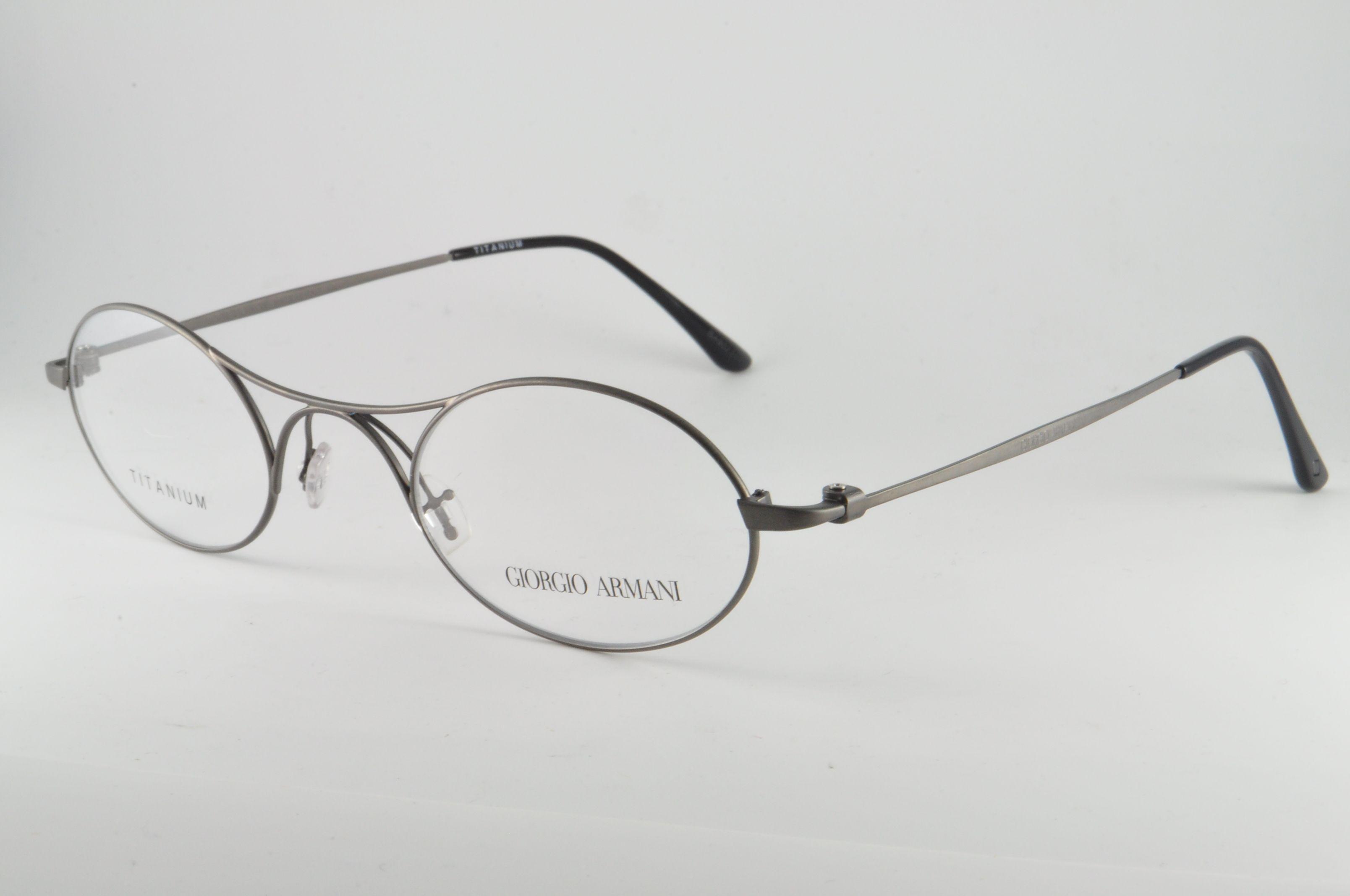 Giorgio Armani Eyeglasses AR 5027T 3003 Matte Gunmetal, Size 45-24 ...