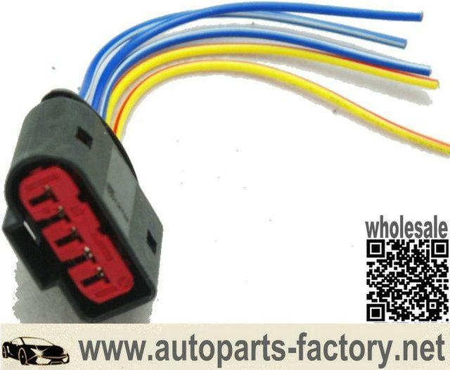 Pin On Longyue 10pcs Maf 5 Pin Connector Adapter Mass Air Flow Sensor For Vw Golf 99 01 1j0 973 775 A 6