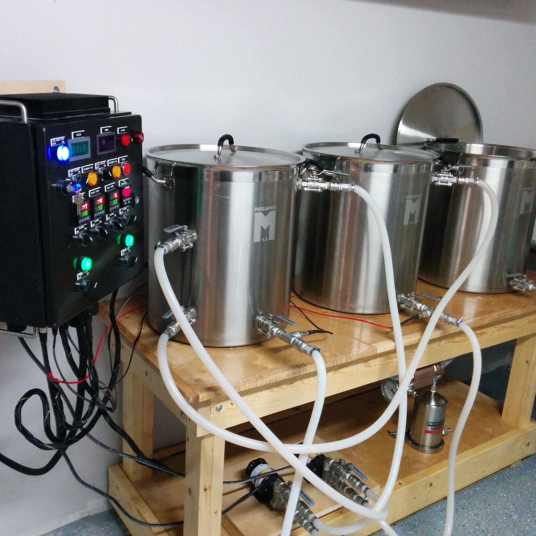 The Basement Homebrewery Mega Album Home Brewing Beer Home Brewing Equipment Home Brewery