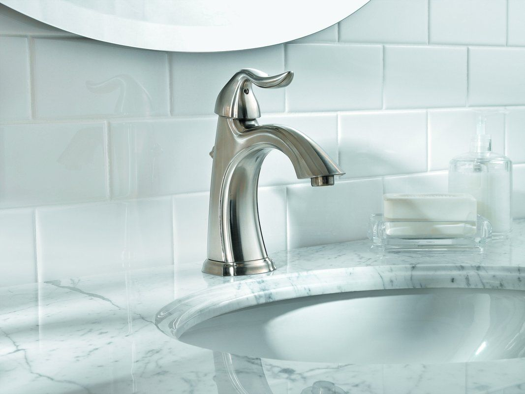 Pfister Santiago Single Control Lavatory Faucet In Polished Chrome Also Available In Brushe Bathroom Faucets Single Hole Bathroom Faucet Best Bathroom Faucets