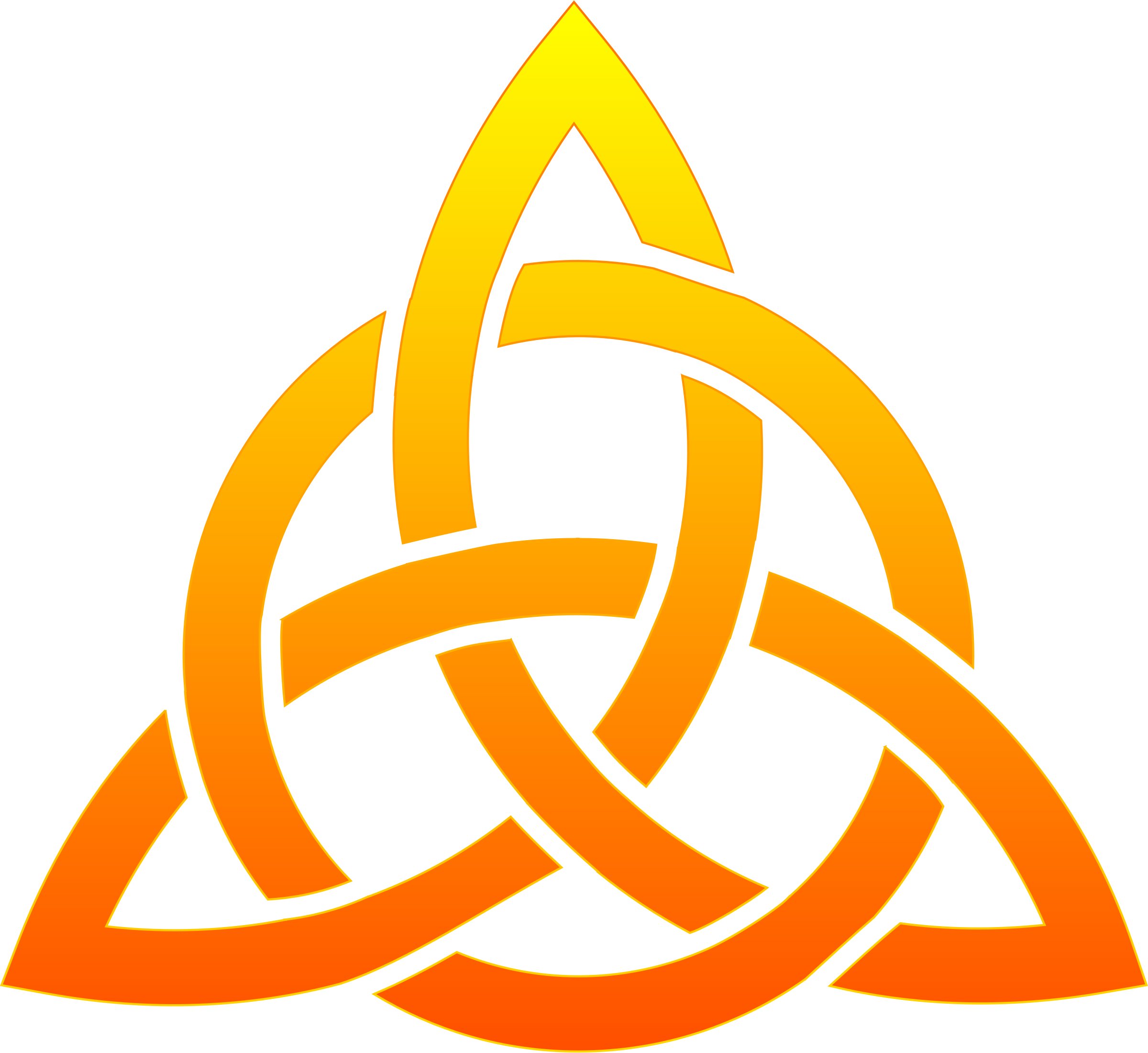 Celtic trinity knot by techwriter celtic trinity knot with some christians believe the trinity is a model for marriage does the trinity model distinct roles and separate spheres or hierarchy and subordination biocorpaavc Image collections