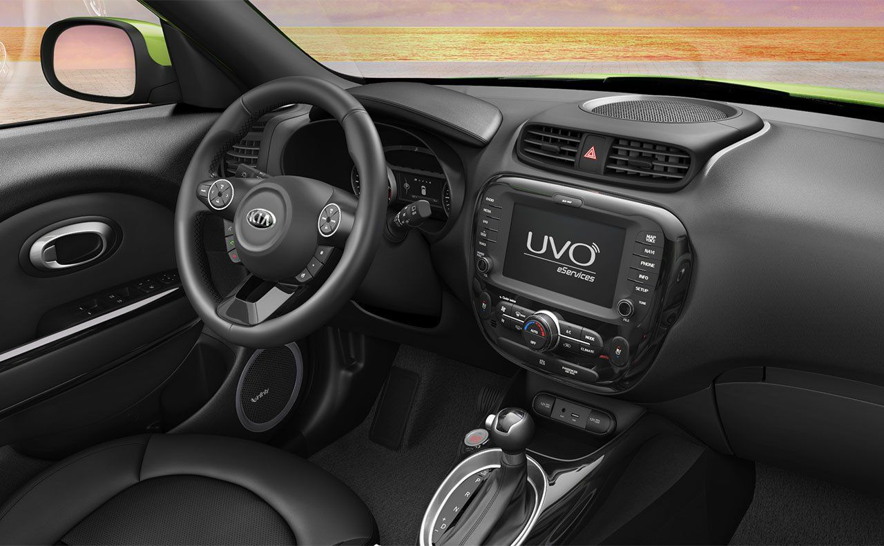 Inside The 2015 Soul: Advanced Technology Including UVO EServices.
