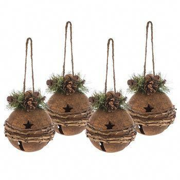 Brown Bell With Greenery Ornament #hobbylobbychristmas Rc Hobby