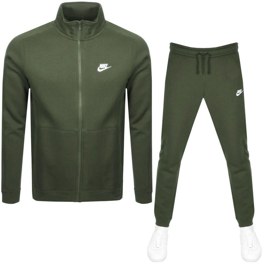 Nike Basic Tracksuit Khaki Modesens Track Suit Men Tracksuit Nike Tracksuit