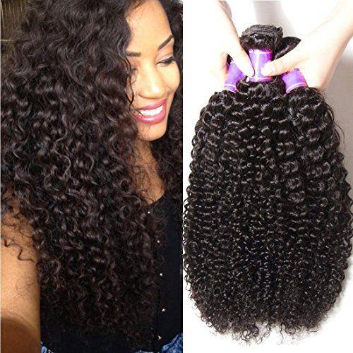 Ali Julia Wholesale 3 Pack Malaysian Virgin Curly Hair We Human Hair Wefts Human Hair Extensions Real Hair Extensions
