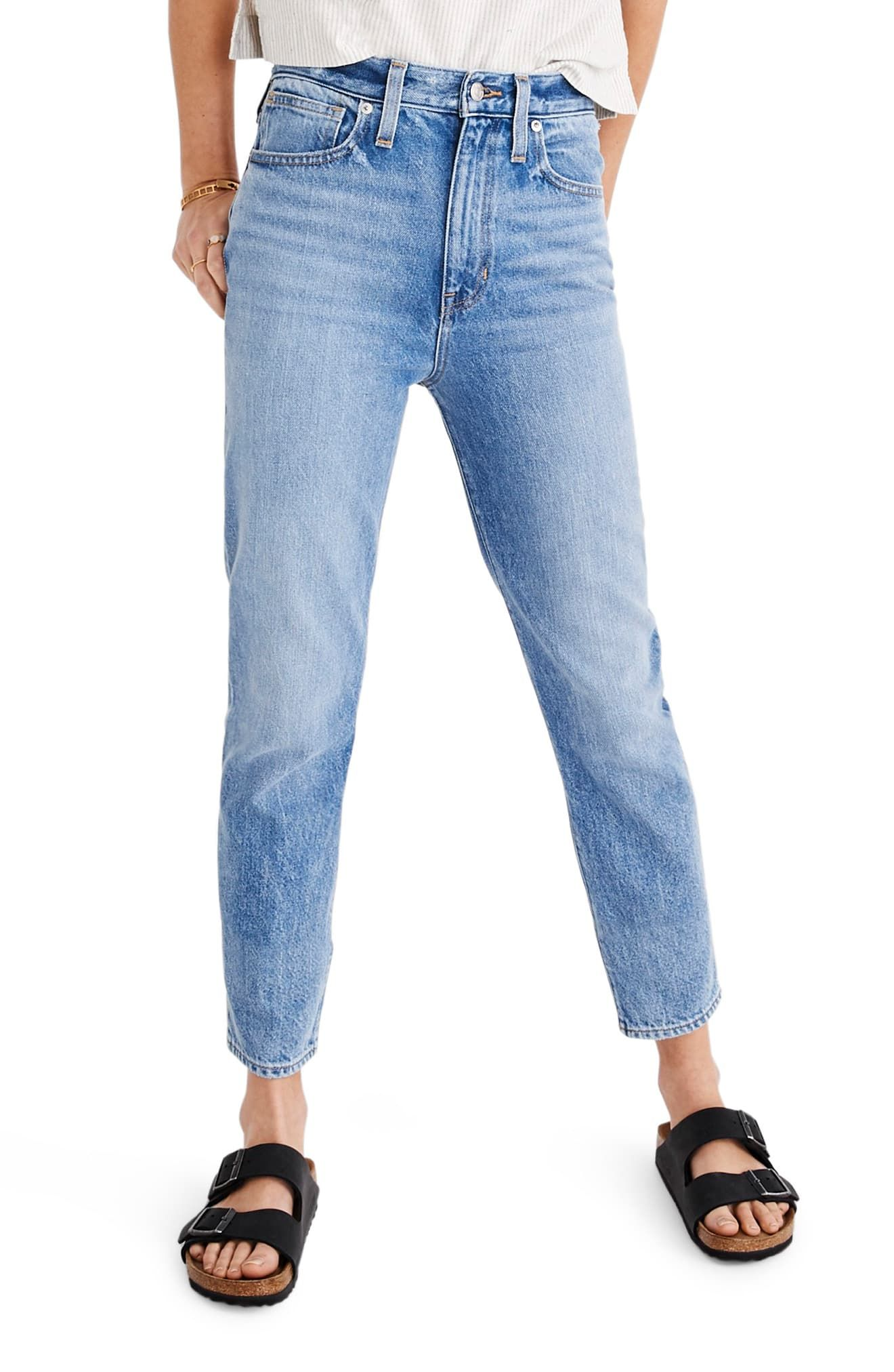 050a45bda09fbb Madewell The Momjean High Waist Jeans in 2019 | Products | High ...