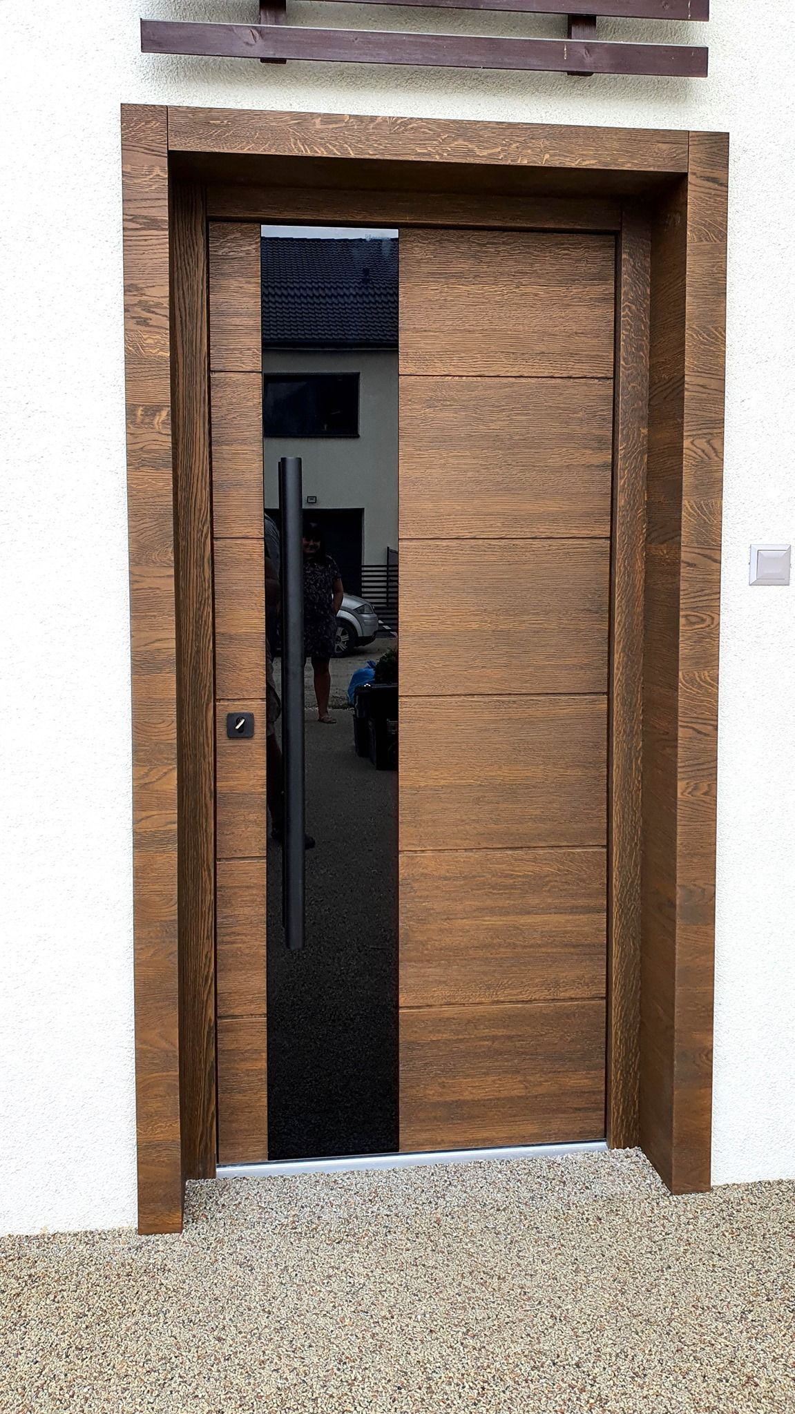 Drewniane dębowe drzwi Top Design WOOD 04 exclusive wooden d…