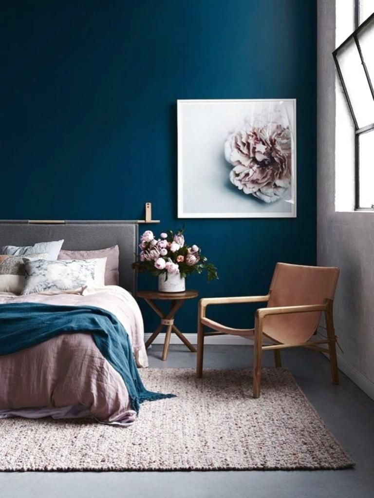 40 Beautiful And Cozy Bedroom Decor Ideas Bluebedroomdecorideas Bedroom Decor Cozy Blue