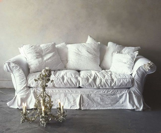 Pin By Marina Sapunova On Walls Shabby Chic Shabby Chic Sofa