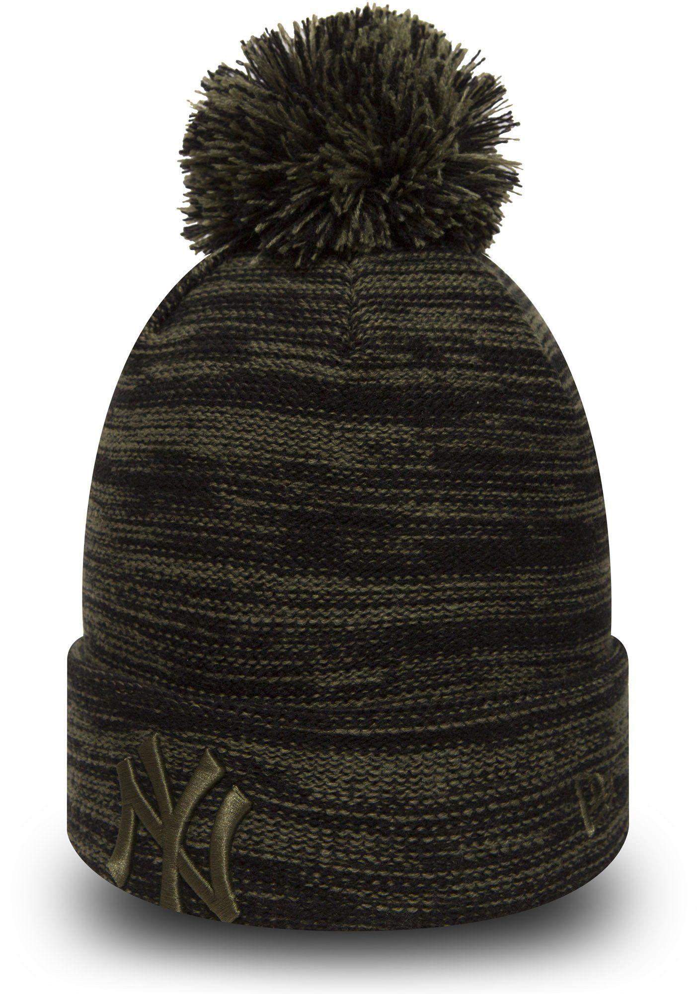 6b12e30d106 NY Yankees New Era Marl Knit Bobble Hat – lovemycap