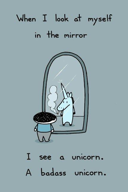 I'm a Unicorn Art Print