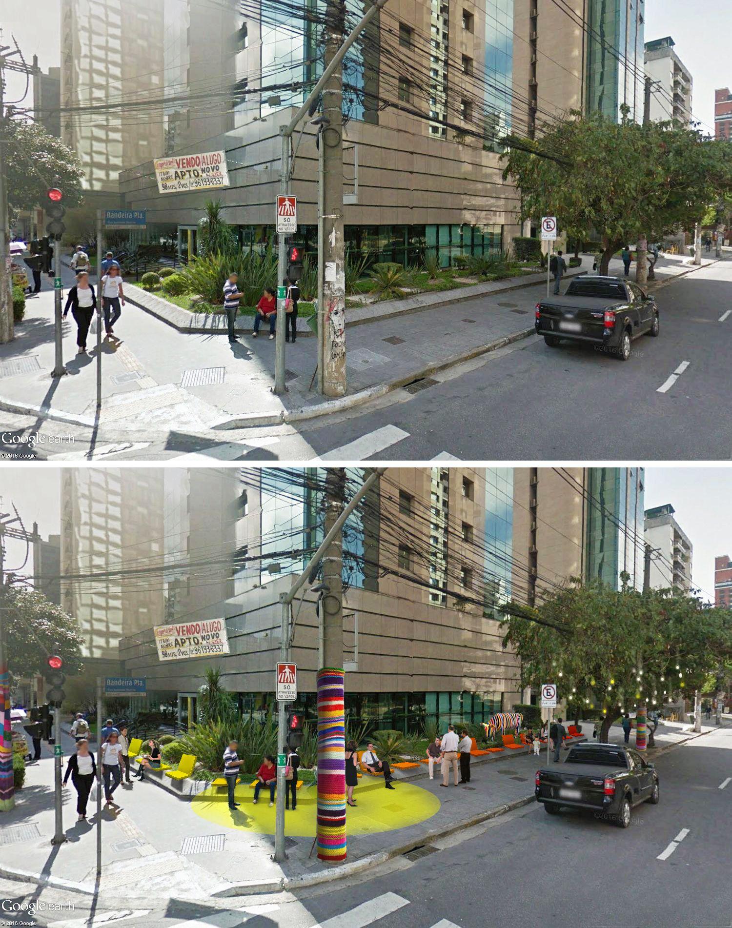 BANCO | antes e depois | Waldivo Junior