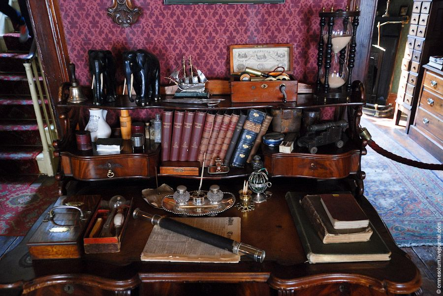 Straight out of fiction: Inside the home of Sherlock Holmes