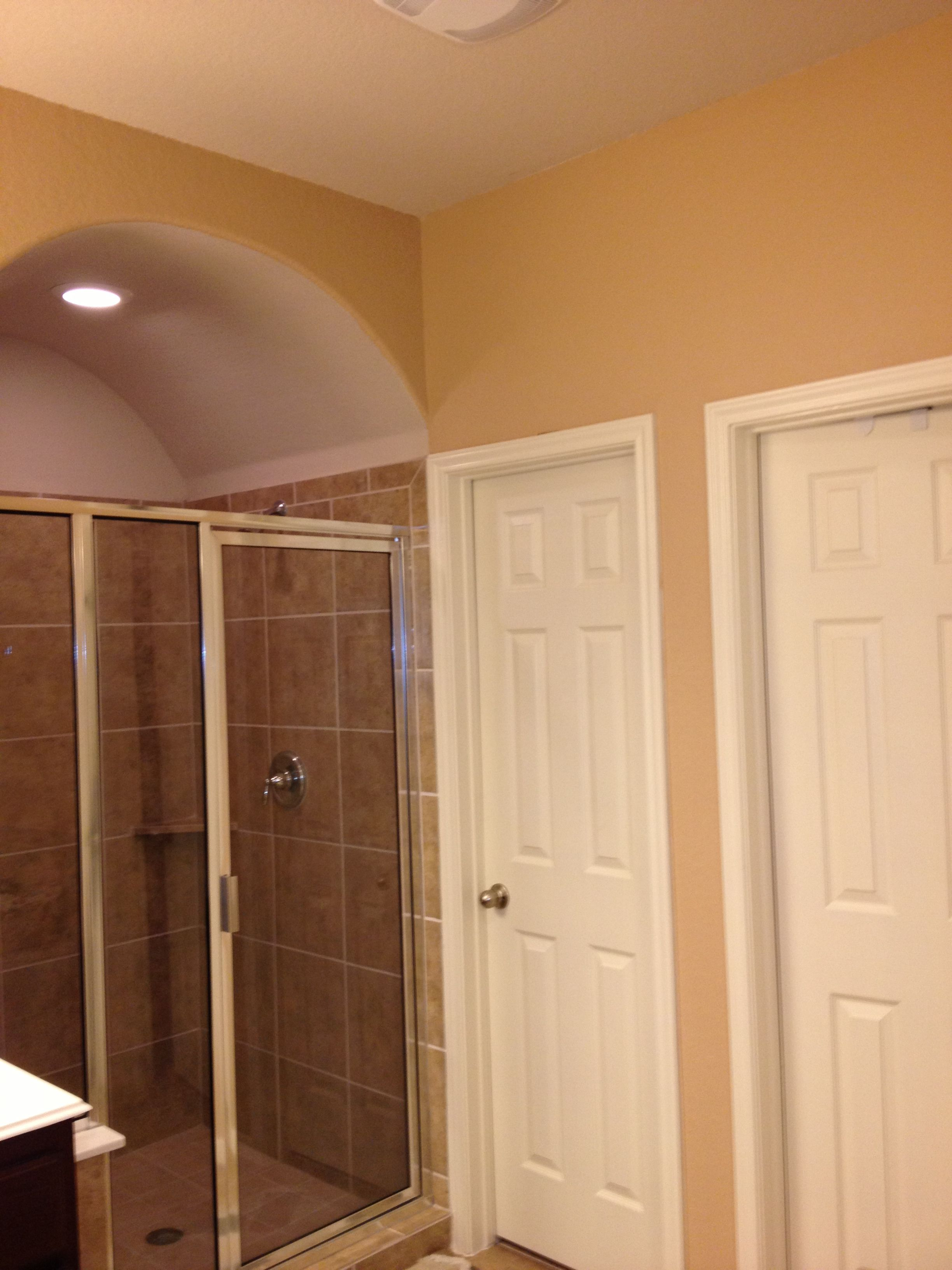 I Did Our Master Bathroom In Sherwin Williams Bagel It S From The
