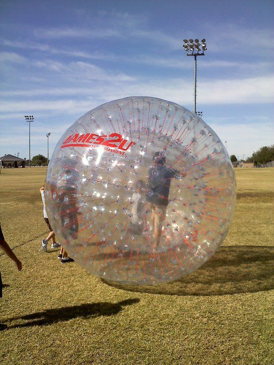 Human Hamster Ball Laser tag, Unique activities, Giant