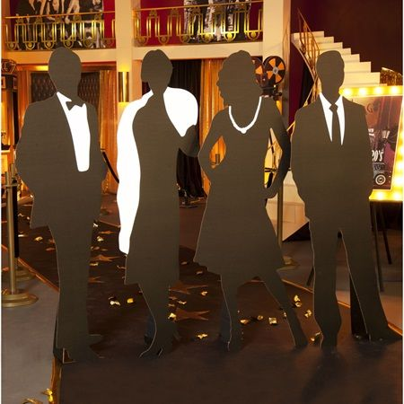 Silhouette Prom Decorations