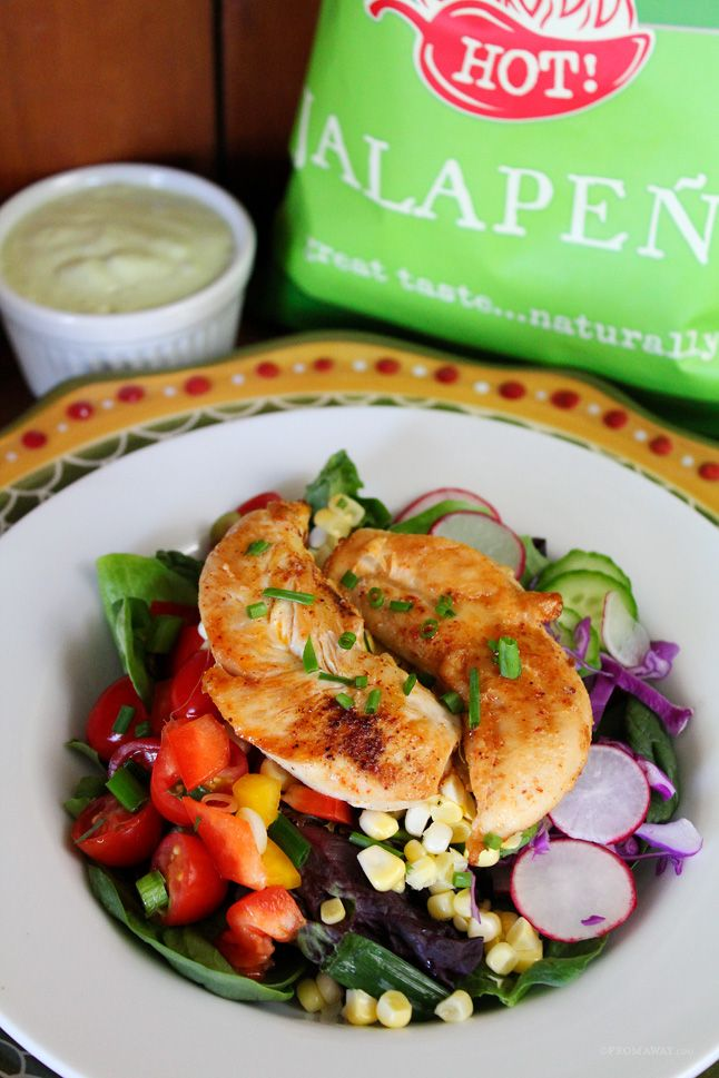 Jalapeno Kettle Chips and Fiesta Chicken Salad, a Perfect Picnic Pairing