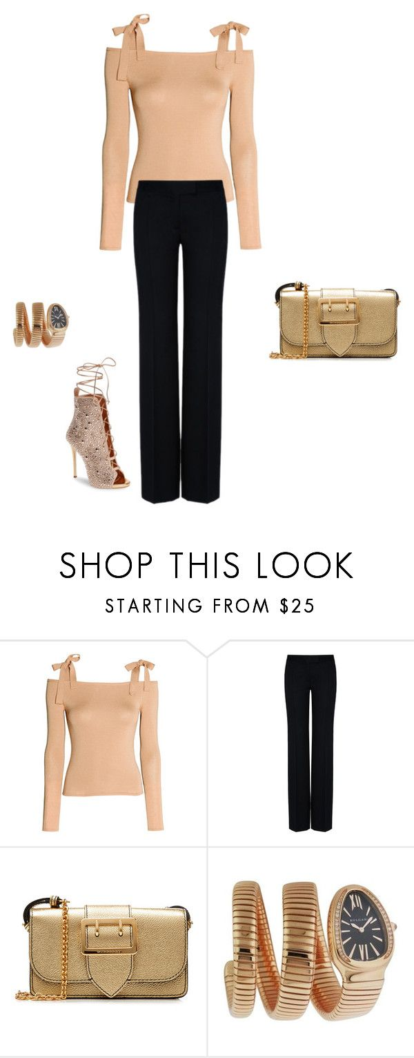 """Untitled #11436"" by explorer-14576312872 ❤ liked on Polyvore featuring STELLA McCARTNEY, Burberry, Bulgari and Giuseppe Zanotti"