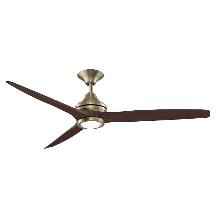 Curved Wood Metal Ceiling Fan With Images Ceiling Fan Wood Ceiling Fans Metal Ceiling