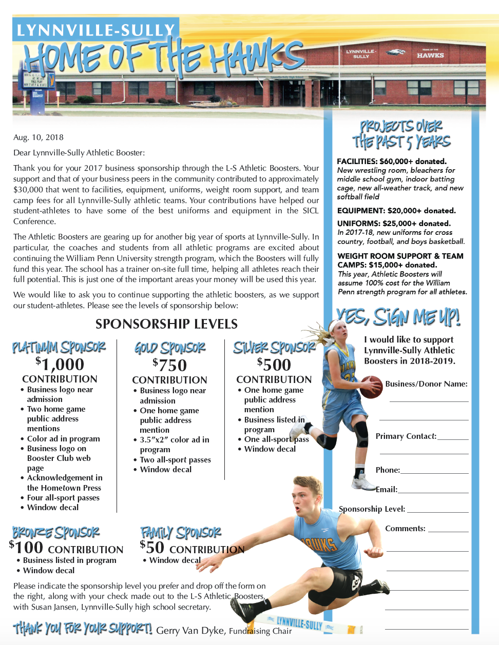 Athletic Booster Club L S Home Workout Training Programs Booster Club Fundraising Booster Club Membership