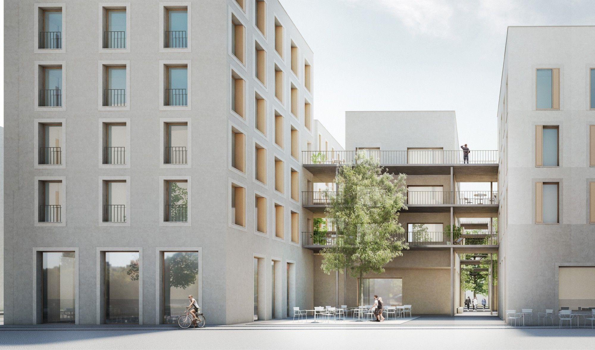Bekannte gr en und junge aufsteiger berliner wohnbauwettbewerb urban living google - Bekannte architekten ...