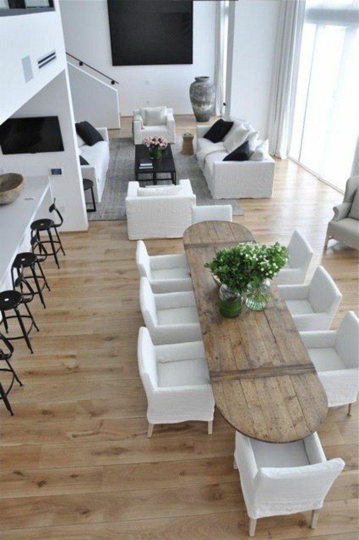 1001 id es pour am nager une chambre en longueur des solutions petits espaces salle a. Black Bedroom Furniture Sets. Home Design Ideas