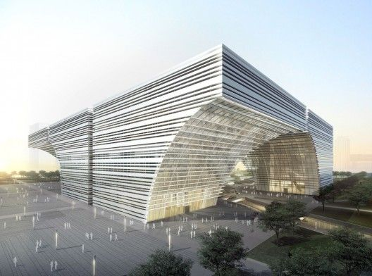 Changzhou Culture Center / gmp Architeckten Keller Williams Realty  Orlando Fl www.SkylivingOrlandoProperties.com