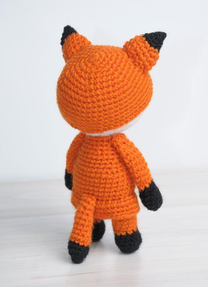 Amigurumi doll in fox costume | Fuchs kostüm, Fuchs und Amigurumi