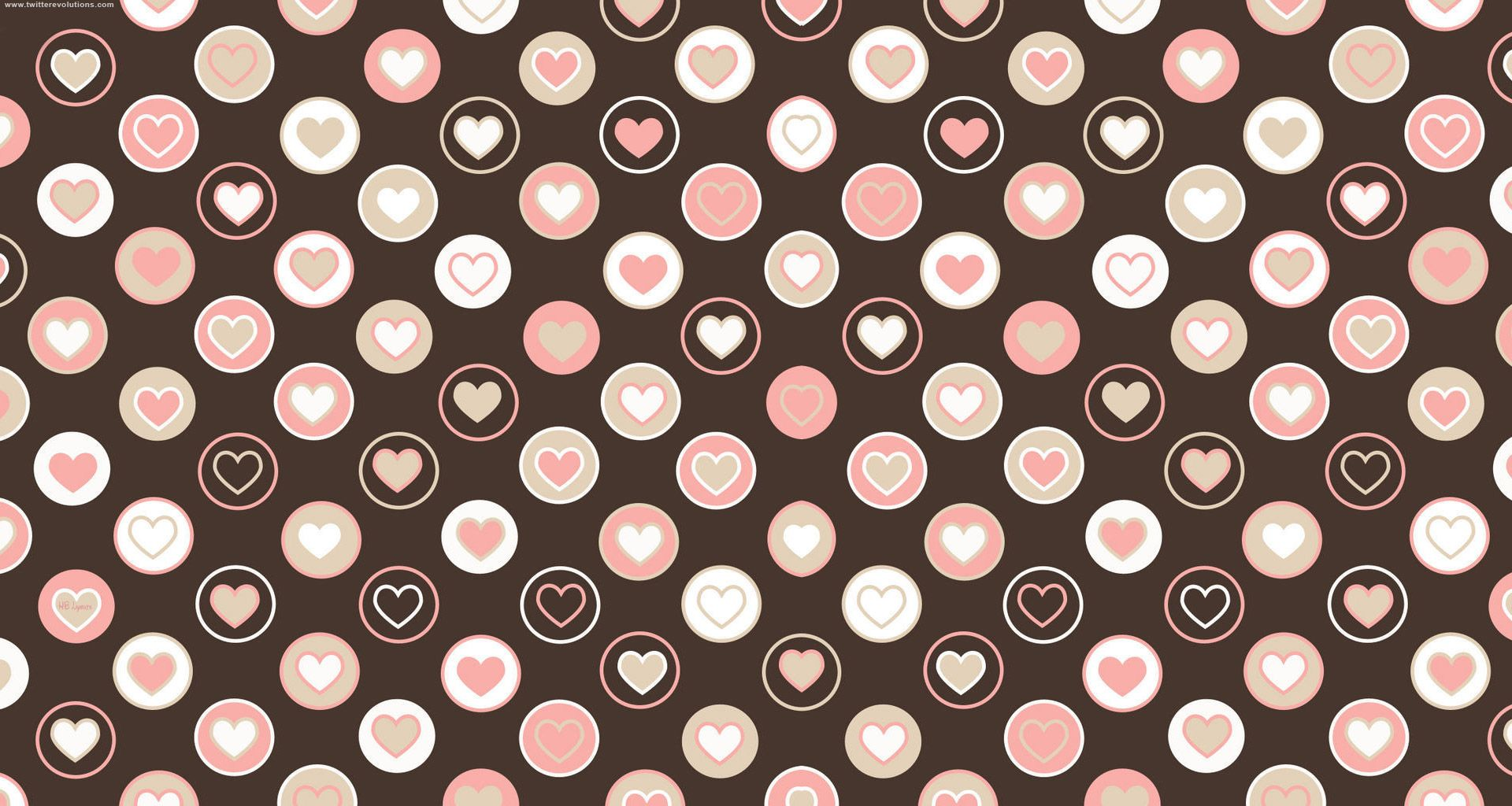 Tiled pink hearts twitter background twitter backgrounds cake tiled pink hearts twitter background twitter backgrounds voltagebd Image collections