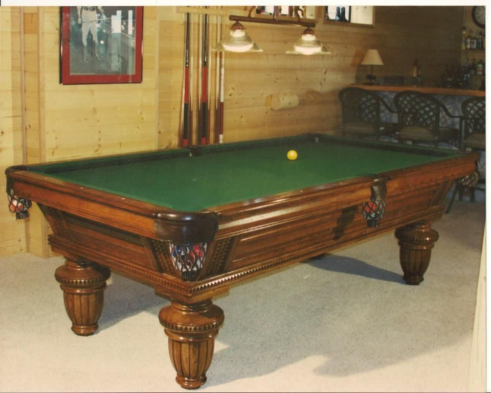 Golden West Union League Pool Table From Our Legend Series This