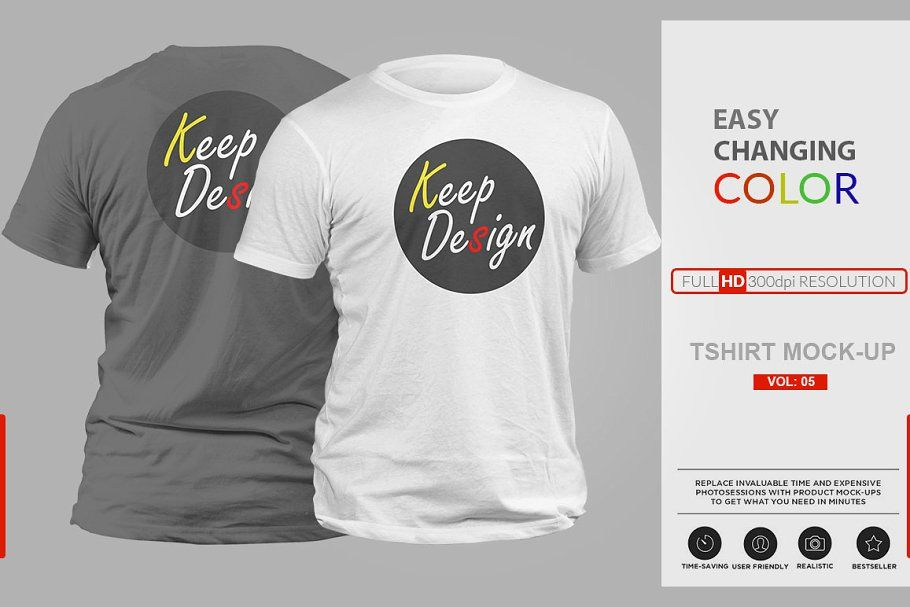 Download Realistic T Shirt Mock Up Vol 5 Tshirt Mockup Photoshop Mockup Mockup