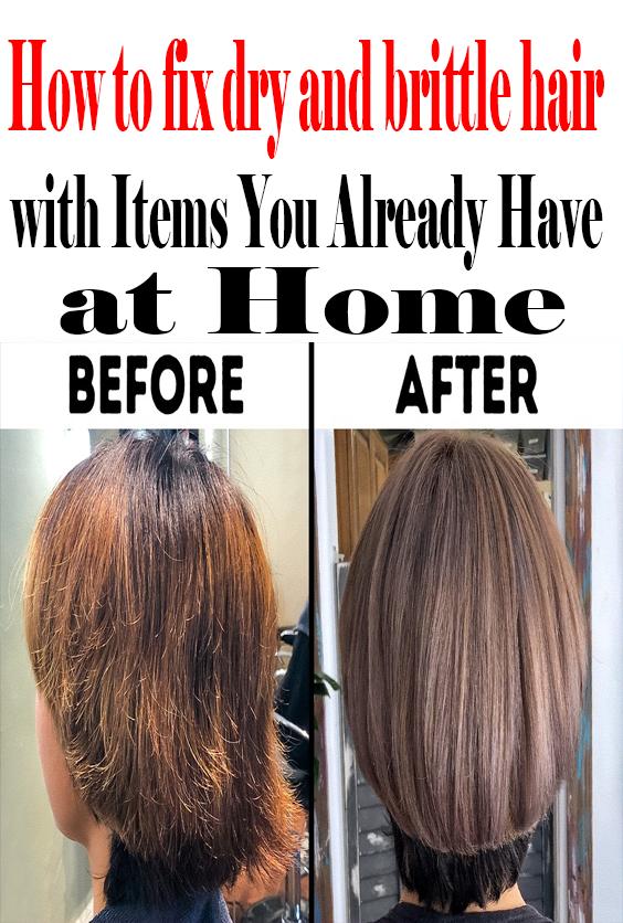 How To Repair Damaged Hair With Items You Already Have At Home Repair Dry Brittle Hair Damaged Hair Repair Hair Repair
