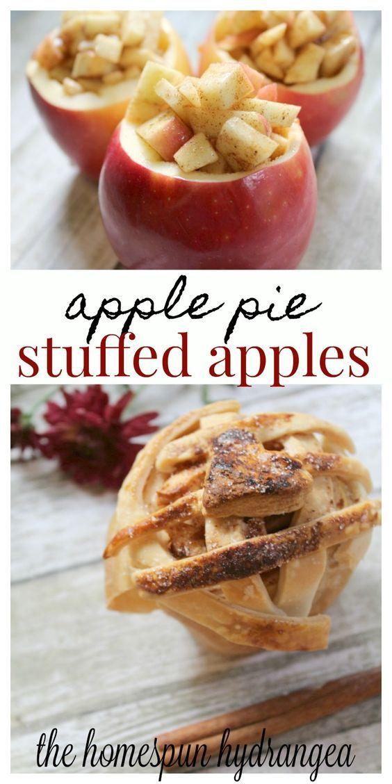 Tasty Easy Apple Pie Baked in the Apple Recipe Apple