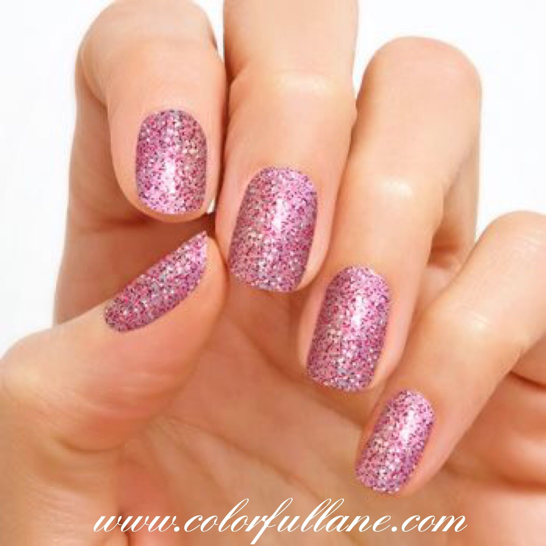 Venetian Masquerade by Color Street is a very popular glitter nail ...