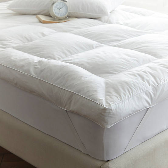 Downland Anti Allergy Duck Feather Down Mattress Topper With