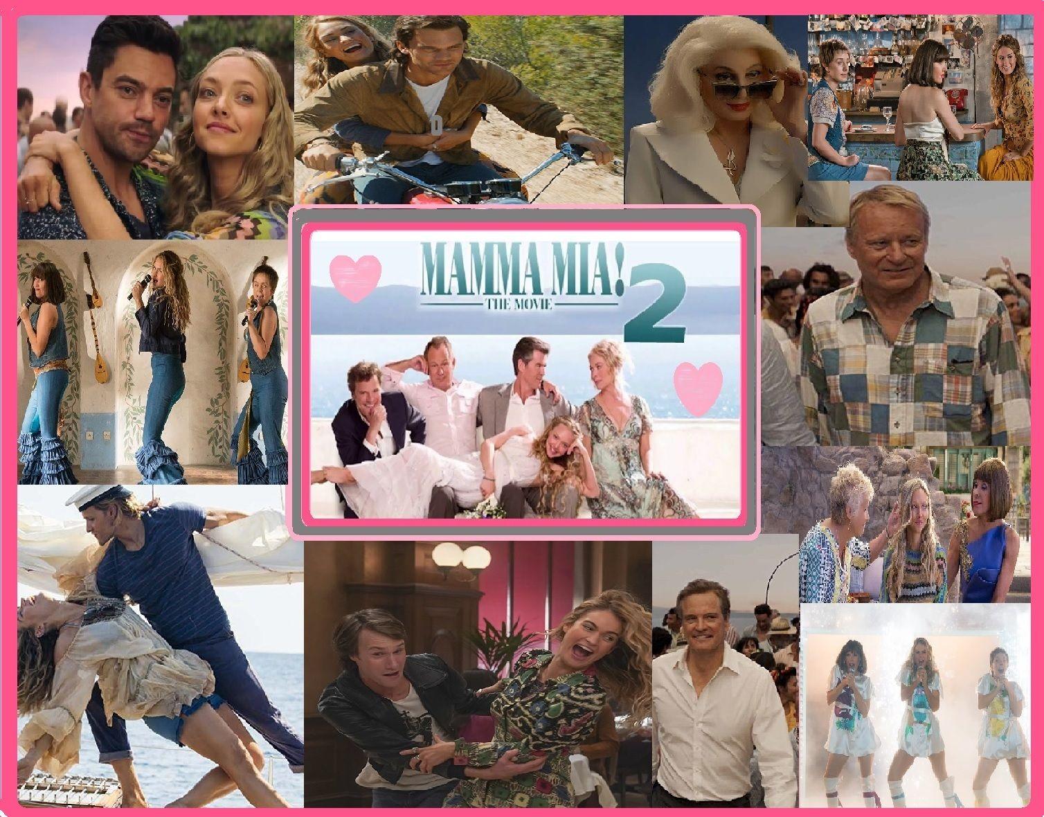 Mamma Mia 2 Mammamia Musicals Films2018 Abba Mamma Mia