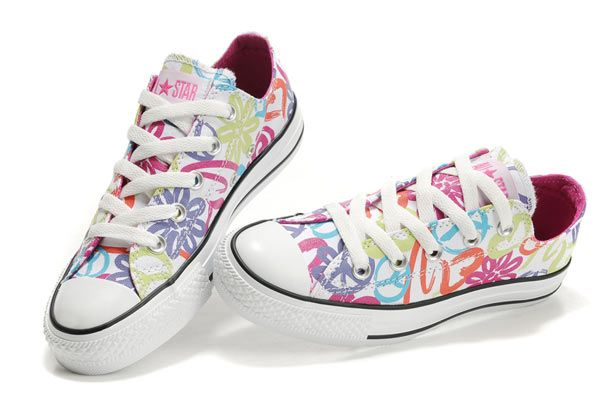 a2b482cb01c1 Converse All Star Peace and Love Low Top Women s Canvas Sneaker - Click  Image to Close
