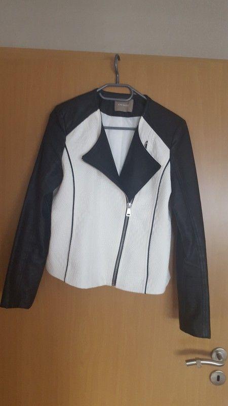 a8e3e137fd335a Jacke von Orsay | Kleiderkreisel | Lederjacke damen, Jacken und ...