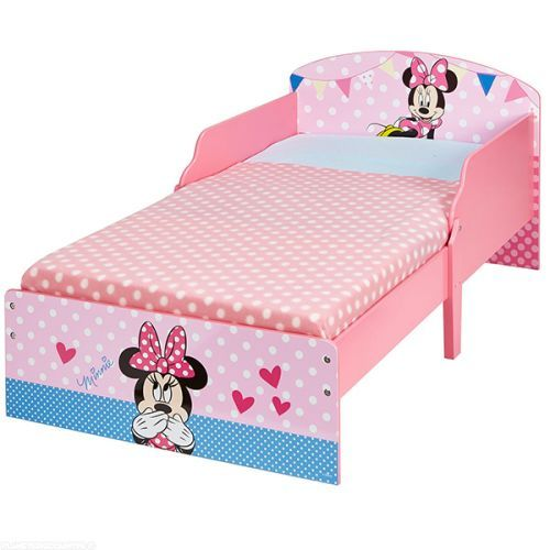 lit enfant minnie en bois cosy disney 105 00 profitez au meilleur prix du lit enfant. Black Bedroom Furniture Sets. Home Design Ideas