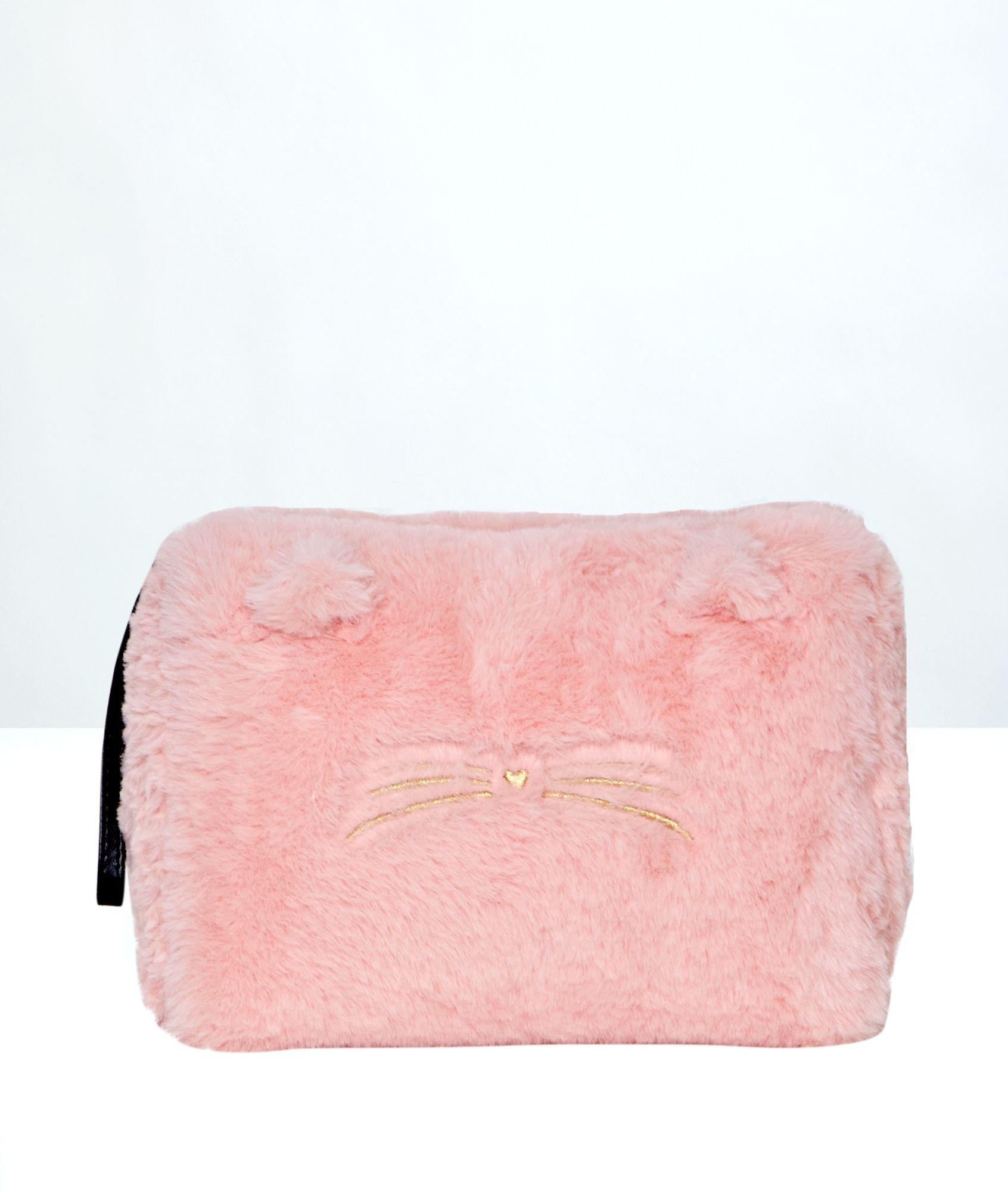 3fa85825d Neceser tejido peluche - FUR BAG - TROUSSE - ROSA - Etam | Bags ...