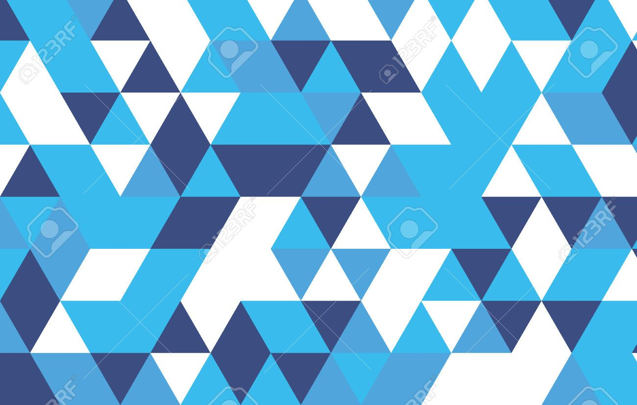 38655663 Colorful Triangle Abstract Background White Blue Geometric
