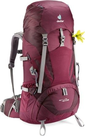 d7eba83ba5 deuter act lite 45+10  best lightweight rucksack for mountaineering. enough  space for girls-stuff and ice pick